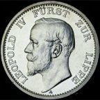 Германия. Липпе-Дармштадт.2 марки 1906 год