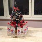 Эксклюзивный лимитированный Рождественский выпуск только для Японии БЕЛАЯ Пепси кола!