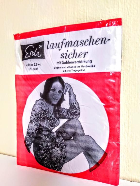 Немецкие чулки laufmaschensicher. DEDERON 34E 20den
