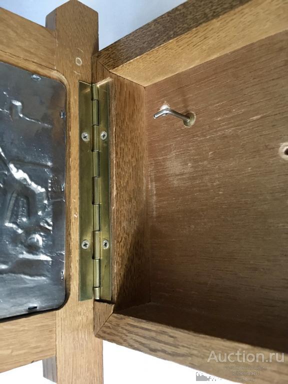 Стар ключница Олово Дуб 21 * 26 см 0,8 кг