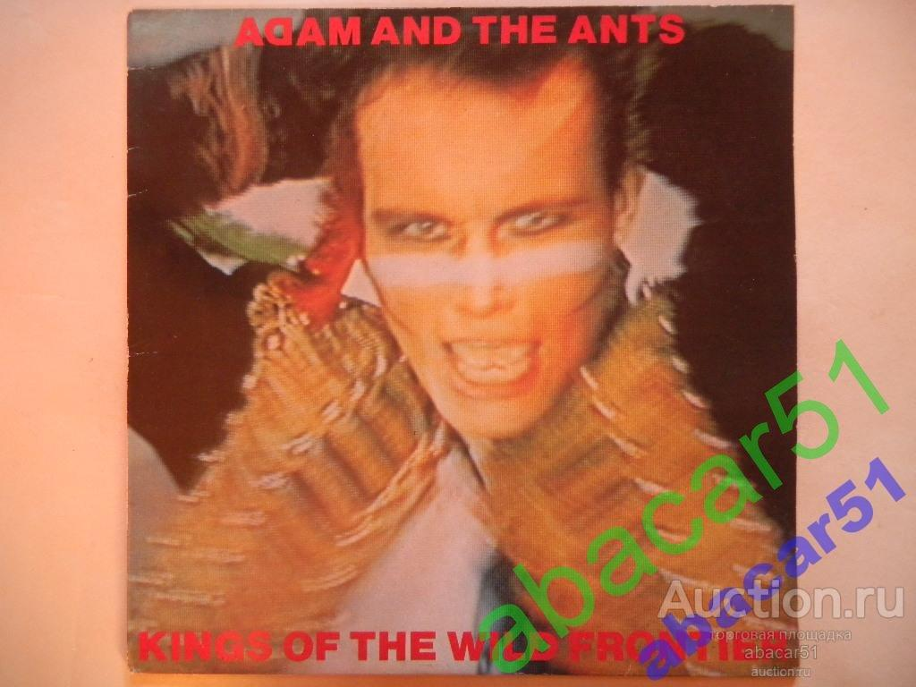 ADAM AND THE ANTS Kings Of The Wild Frontier HOLLAND. CBS IN/SL+BOOKLET 1980 год LP EX/EX.