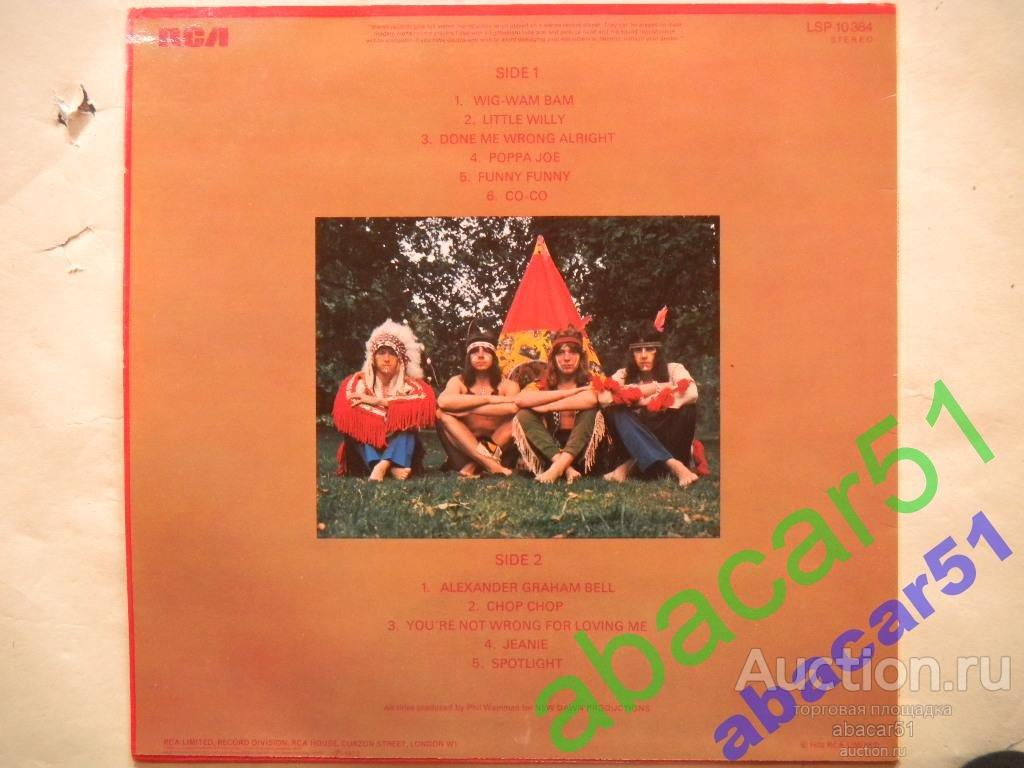 THE SWEET's Biggest Hits GERMANY. RCA 1973 год LP EX/EX+.