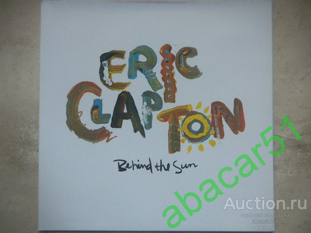 ERIC CLAPTON Behind The Sun GERMANY. DUCK Rec./ WB G/F 1985 год LP N.MINT/EX.
