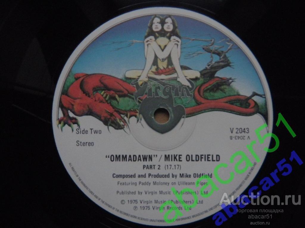 MIKE OLDFIELD Ommadawn UK. VIRGIN  IN/SL 1975 год LP* ORIGINAL 1 Press!!! EX-/EX-.