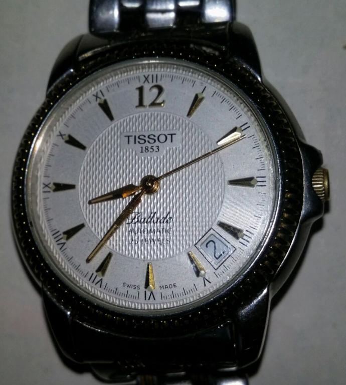 Стоимость ballade часы tissot в ломбард в сдать сочи часы