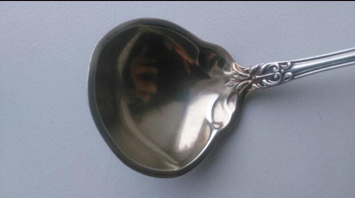 3151 Gorham 1897год старинная серебряная ложка черпак доливочник половник серебро США
