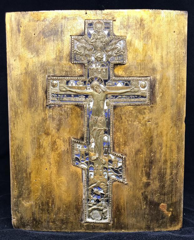 Большая икона, Крест Распятие Христово