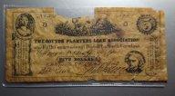 """США 5 Долларов 1862, Южная Каролина. Гражданская война. Конфедераты """"Рабы"""" ОРИГИНАЛ!!!"""