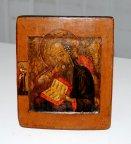Икона Иоанн Богослов в молчании! Ковчег - 18 век!!!