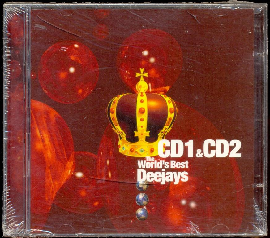 2 CD The World's Best Deejays 2002  фирм (Progressive Trance,House, Techno) ЗАПЕЧАТАН