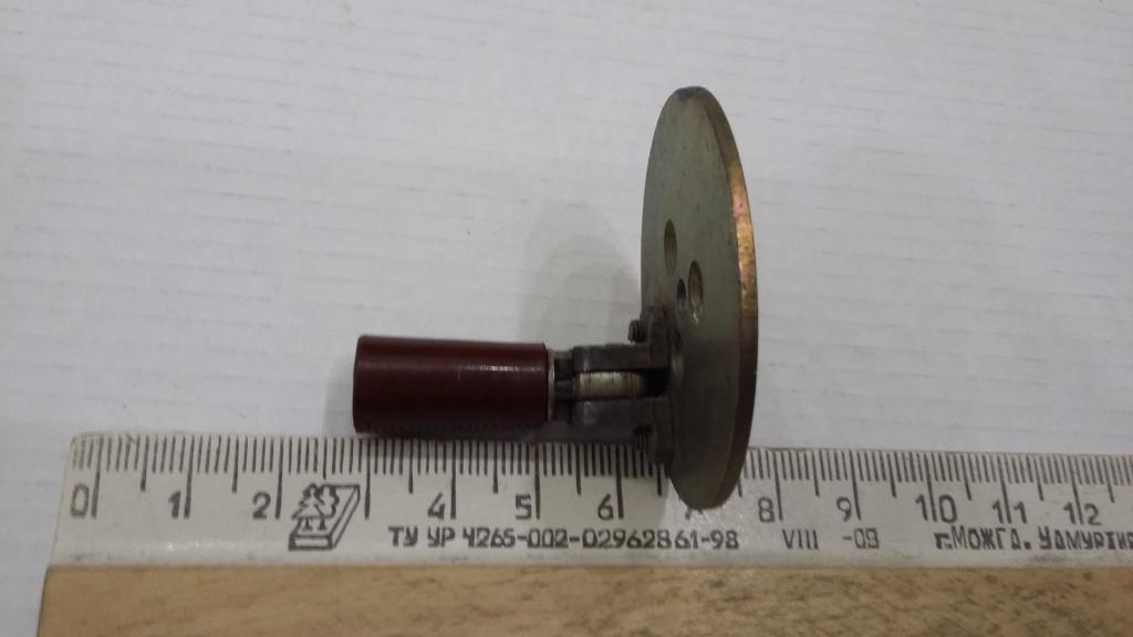 рукоятка полевого телефона (неизвестного)для поделок