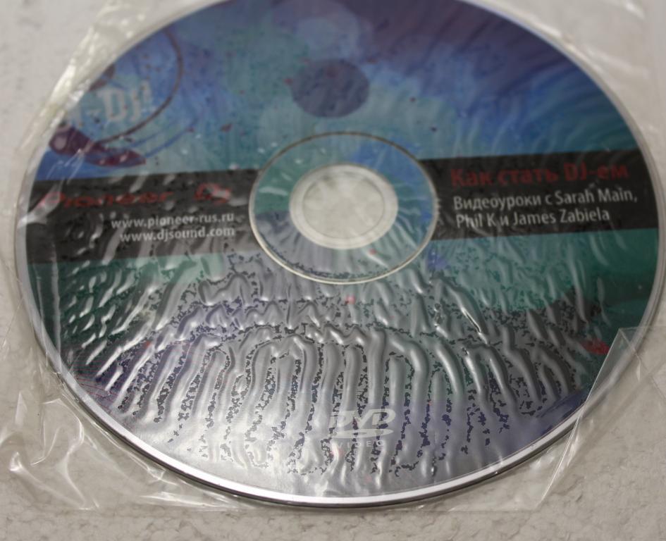 CD Как стать DJ видеоуроки от Sarah Main, Phil K и James Zabiela.