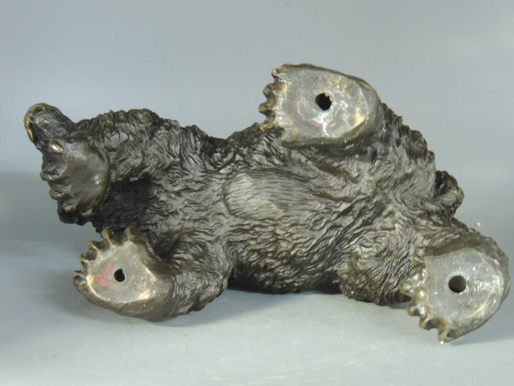 Медведь Большой Красивая Интерьерная Бронза Высота 19 см С Рубля