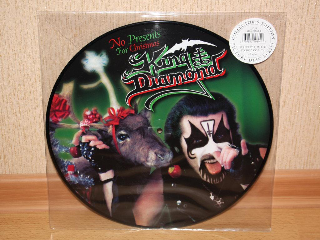 "KING DIAMOND ""No Presents For Christmas"" 12''EP PD"