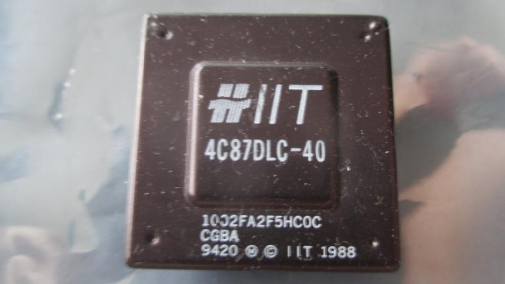 сопроцессор IIT 4C87DLC-40   с 1 рубля