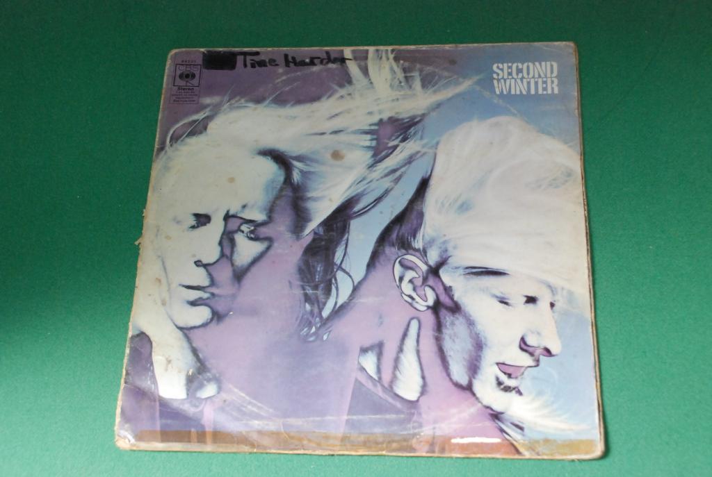 Johnny Winter – Second Winter  1969 CBS   ENGLAND / UK     2LP  -   VG