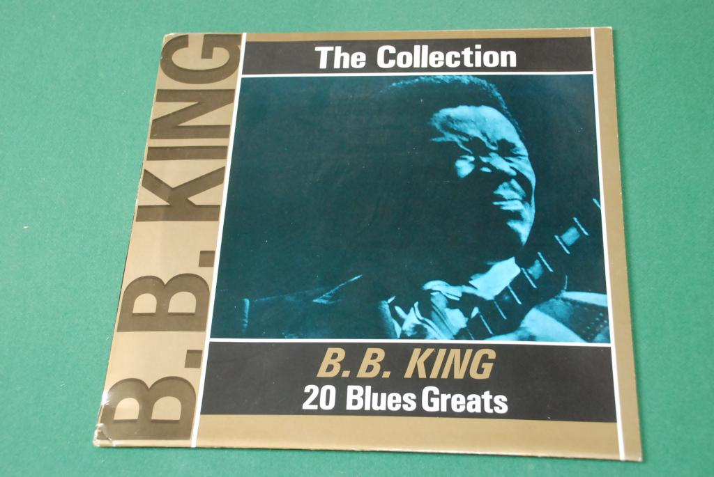 B.B. KING  – The Collection - 20 Blues Greats   ITALY  1985  LP   -  NEAR MINT
