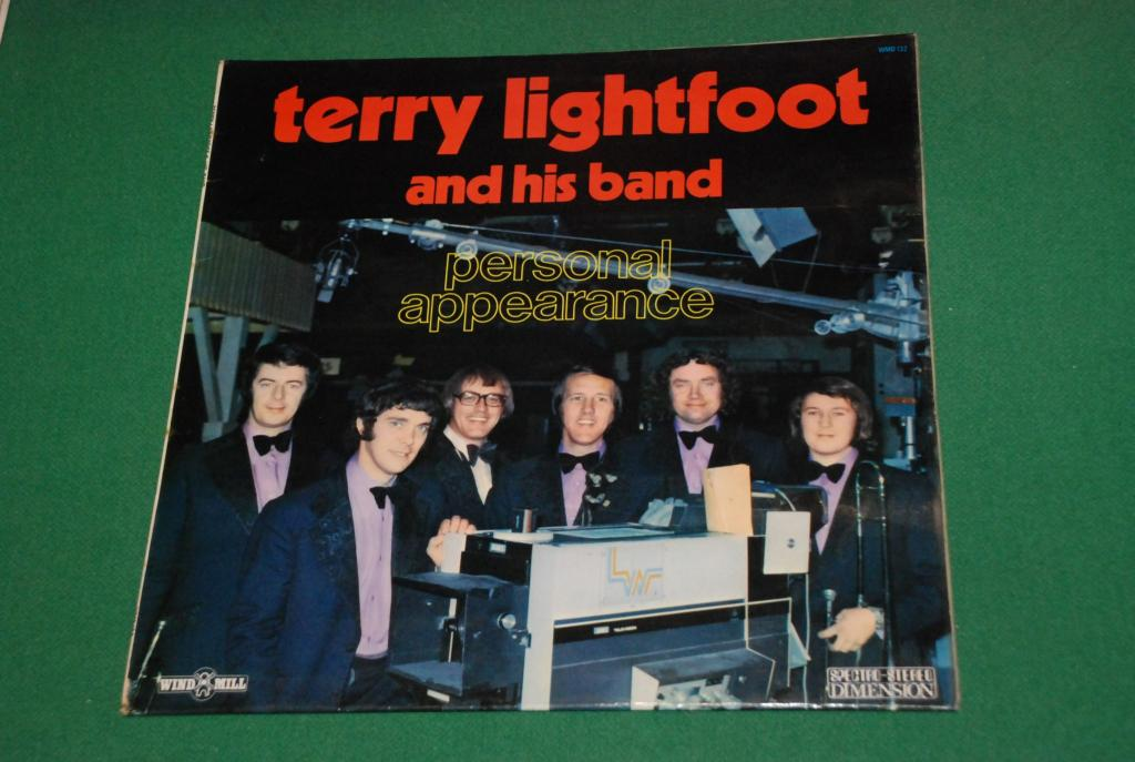 JAZZ  Terry Lightfoot And His Band ‎– Personal Appearance     1972  UK / ENGLAND   LP -   EX