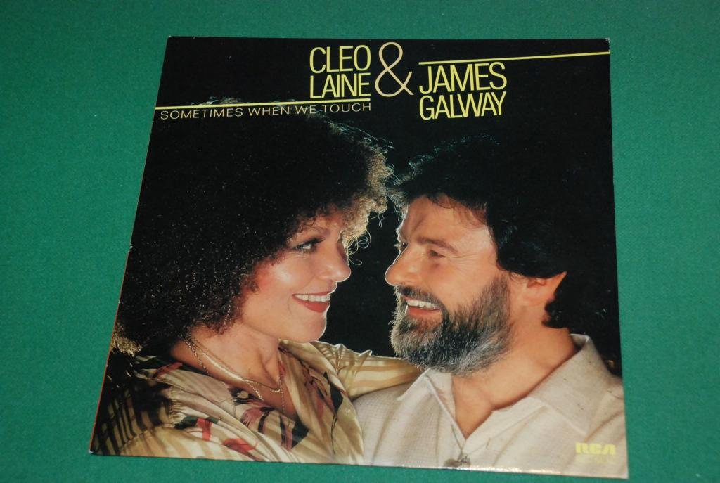 JAZZ VOCAL   Cleo Laine & James Galway – Sometimes When We Touch 1980 UK / ENGLAND  LP -  NEAR MINT