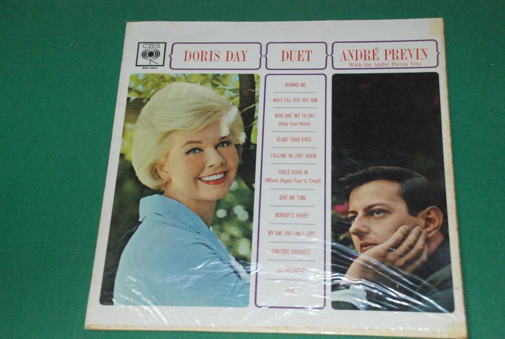 JAZZ POP  Vocal  - DORIS DAY  With The Andre Previn Trio – Duet  1962  UK / ENGLAND   LP - EX