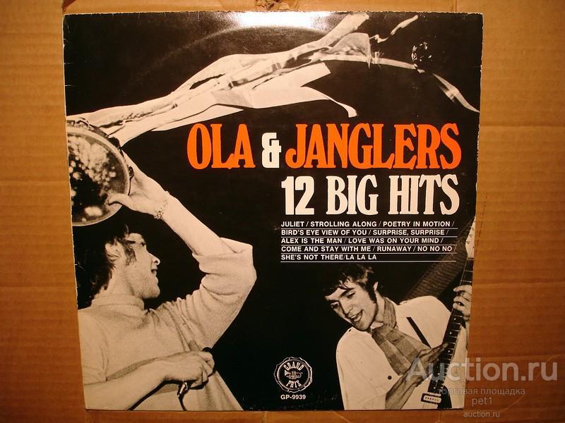Пластинка виниловая  Ola & The Janglers – 12 Big Hits