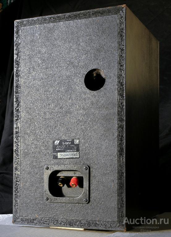 Интересная полочная акустика Sansui S-5XV Made in Japan