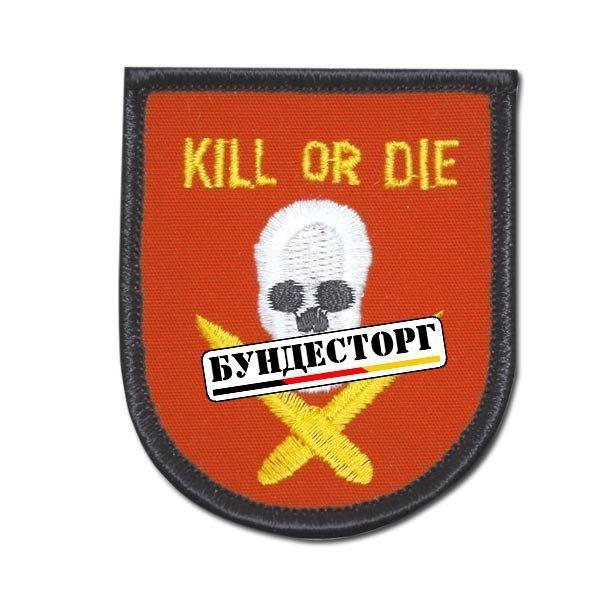 Патч США US Textil Kill or Die