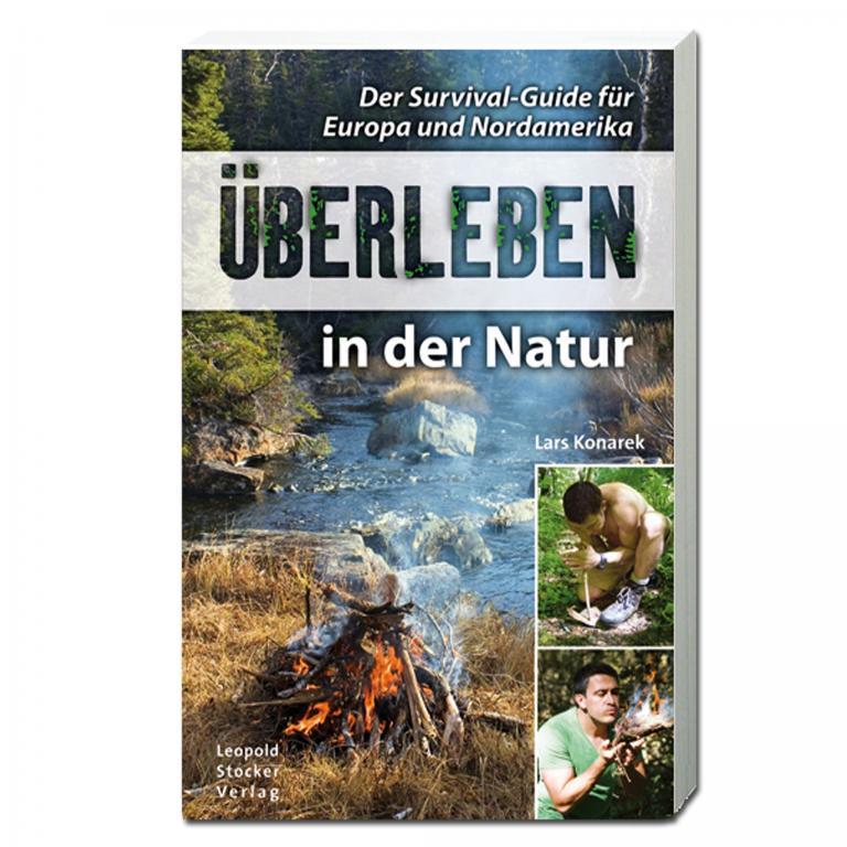 Made in Germany Книга ueberleben in der Natur