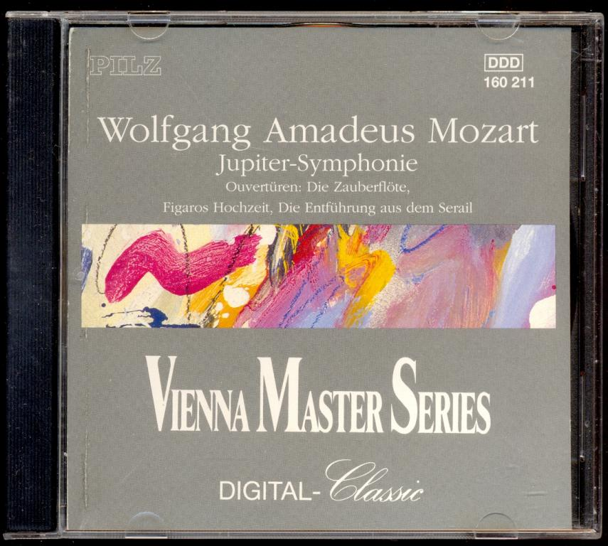 MOZART - London Philharmonic Orchestra, Alfred Scholz ‎– Jupiter-Symphonie 1990 W.Germany