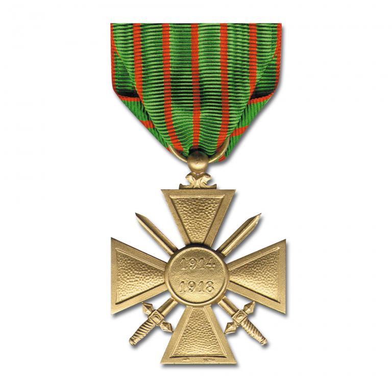 Made in Germany Медаль Croix de Guerre 1914-1918