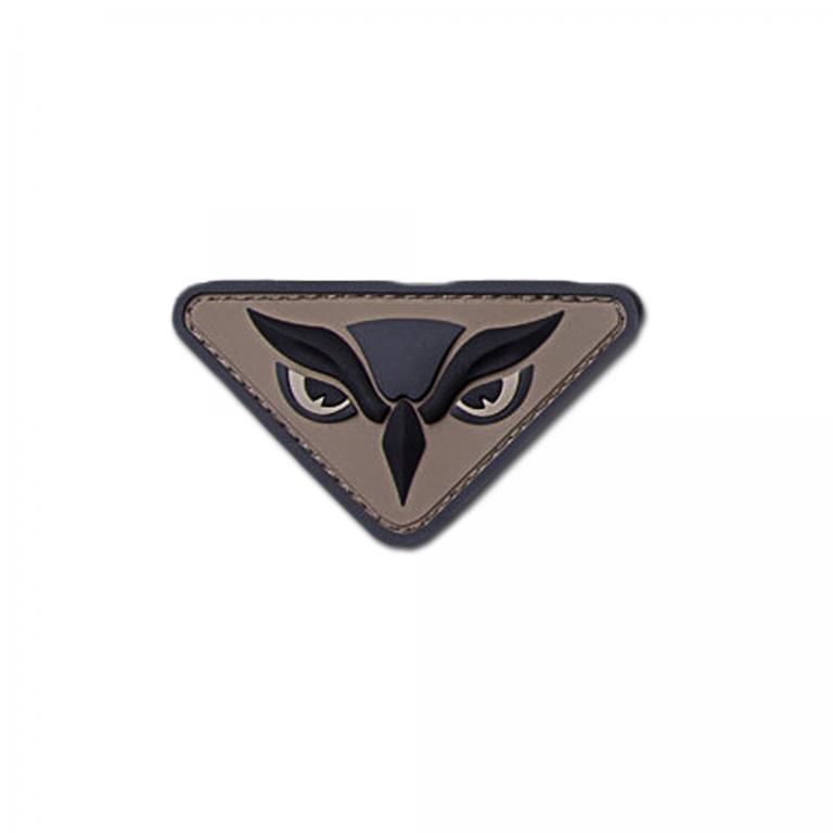 Mil-Spec Monkey Нашивка MilSpecMonkey Owl Head, цвет acu