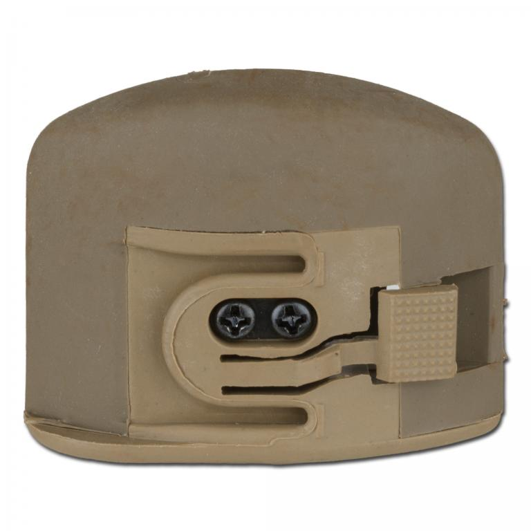 Made in Germany Фонарь на шлем 2-го поколения EX029, цвет песочный