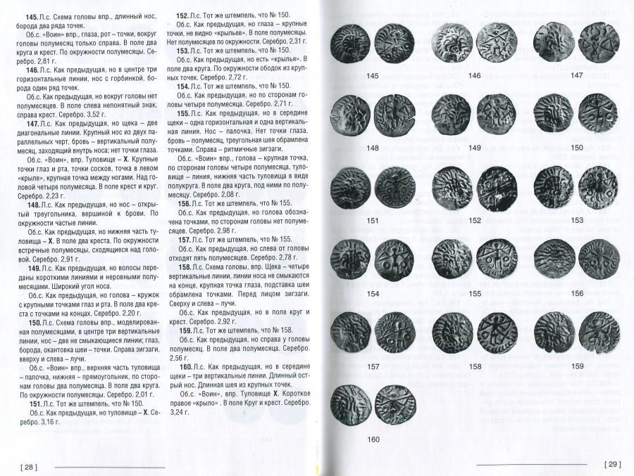 """Клещинов В.Н. """"Римско-сарматские денарии конца II-середины IV веков н.э."""" С автографом!"""