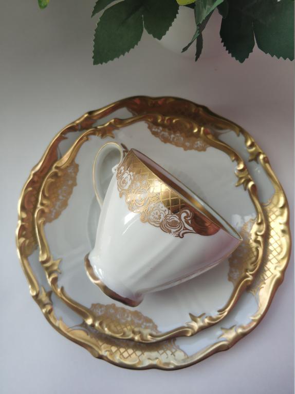 Роскошное кофейное трио Рейхенбах