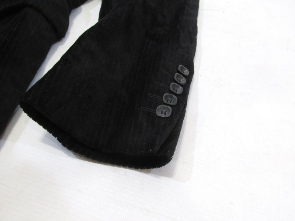 Пиджак черный MEXX, велюр, 46 (S), Как Новый!