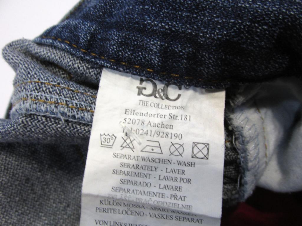 Юбка джинсовая мини G&C, M (12), cotton, Отл сост!