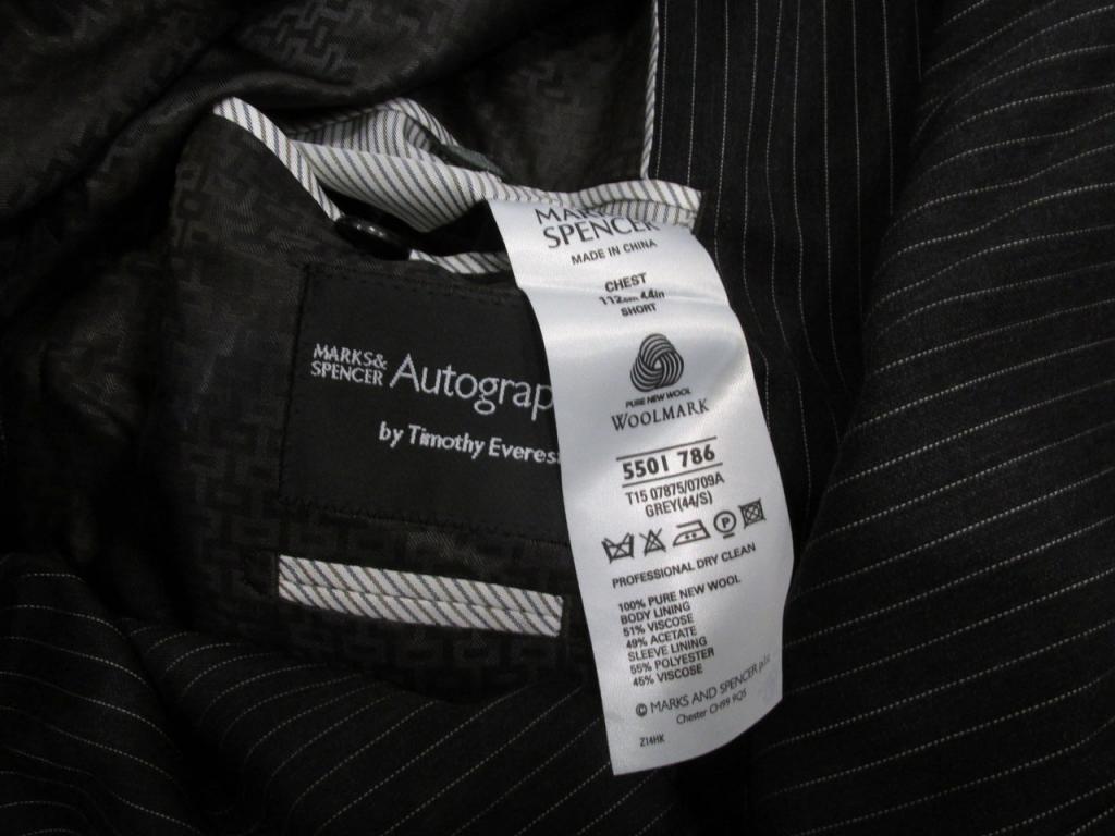 Пиджак M&S Autograph, 44 (XL), Woolmark, Как Новый!