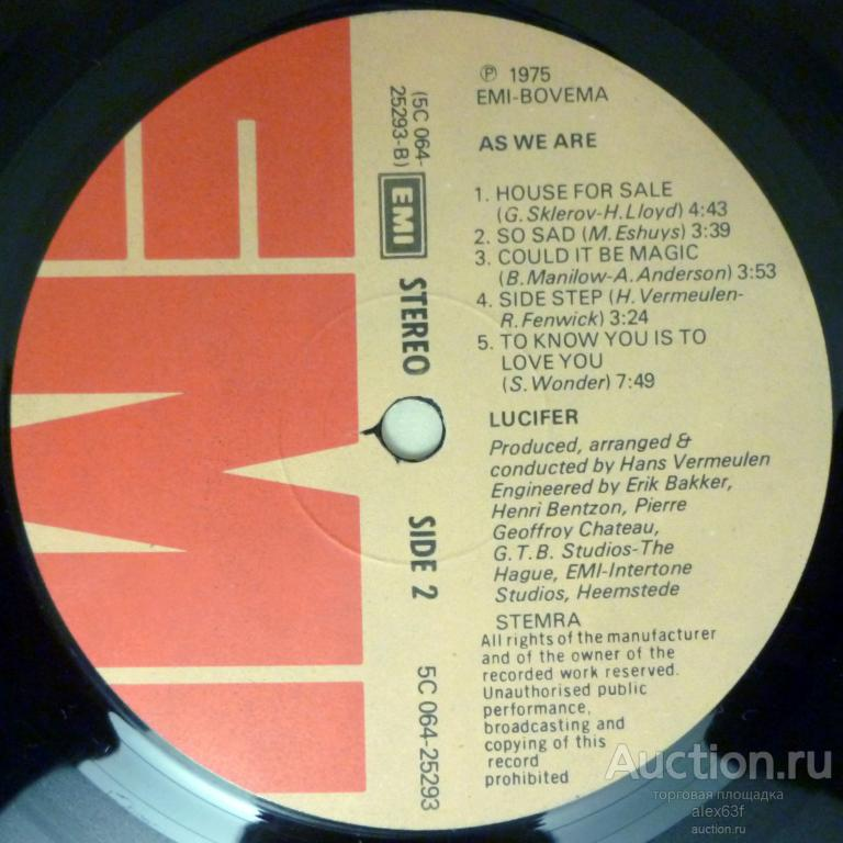 Lucifer 1975 As We Are (Holland)