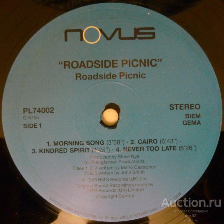Roadside Picnic 1989 Roadside Picnic (Holland)