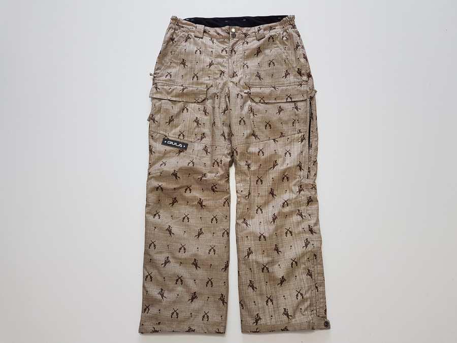Лыжные штаны BULA, сноуборд, утепленные, в поясе 47-52 см, сост. Отличное!