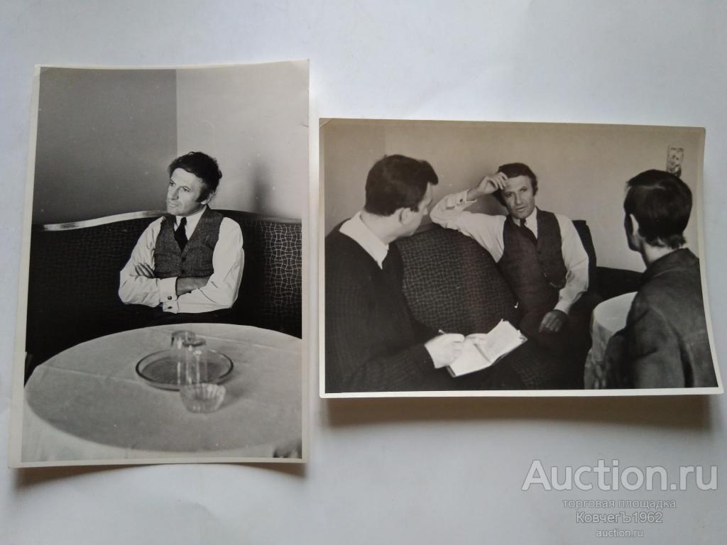 Марсель Марсо в СССР, Marcel Marceau, актёр-мим Франция, начало 60-х,гостиница Пекин в Москве,пресса