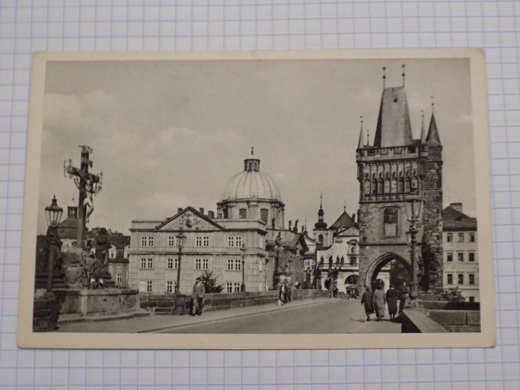 Старые открытки старой праги