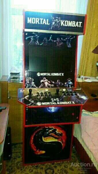 Аркадный Автомат Mortal Kombat 10.