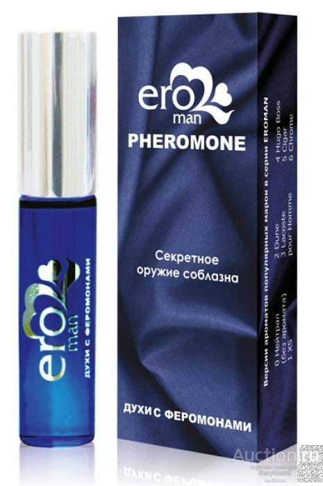 Биоритм Духи с феромонами для мужчин Eroman №6 - 10 мл.