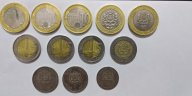 Монеты Марокко 12 штук