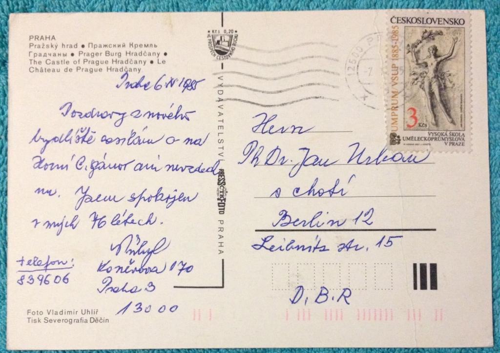 ищите, как отправить открытку в россию из праги такого произошло