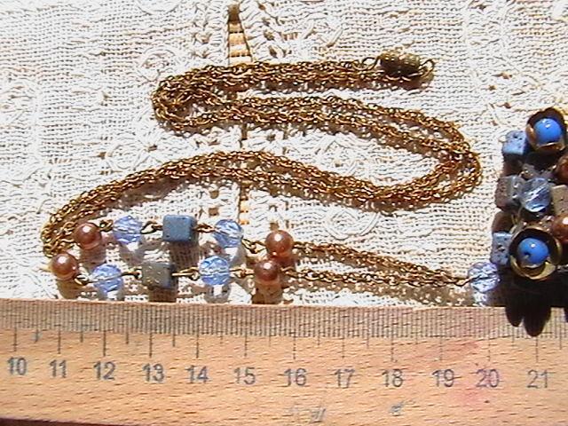 Колье винтажное. Длина цепочки 70 см.