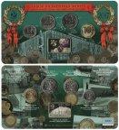 Набор разменных монет Центрального банка Российской Федерации 2017 г. 75 лет ММД в буклете