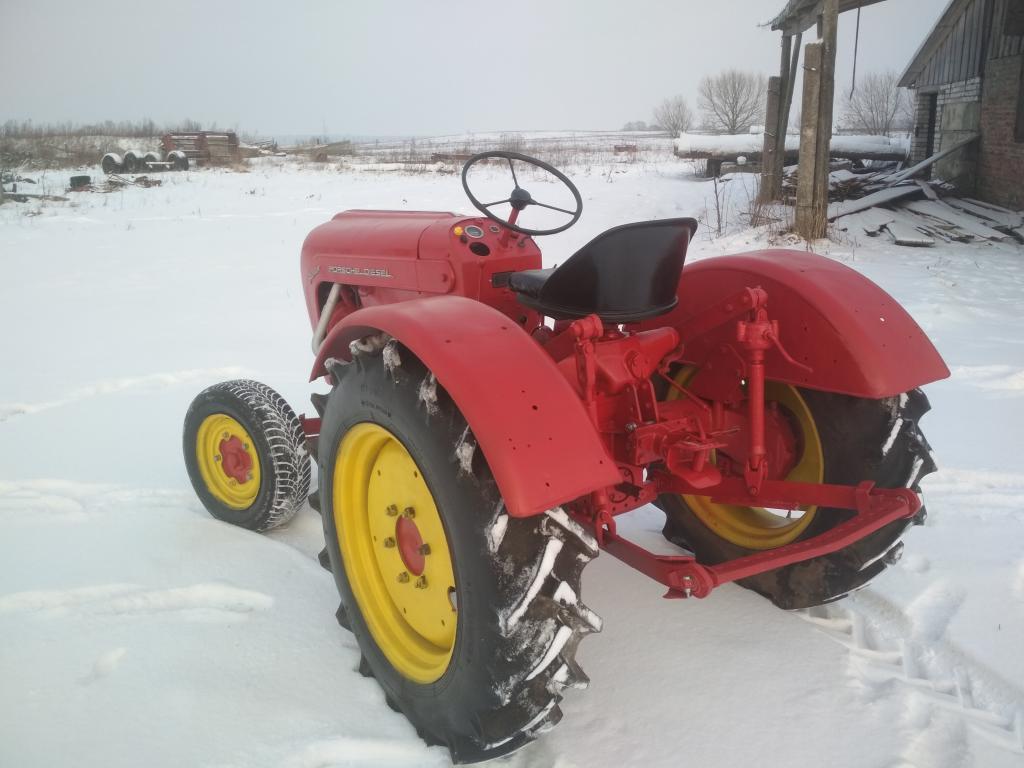 Трактор Порше Джуниор