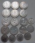 38 руб за грамм, 18 монет в коллекционном состоянии, 137,35 грамм ,Оригинал